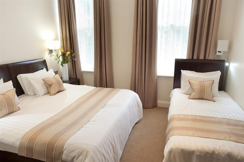 Triple Room. Can be set up with three single beds